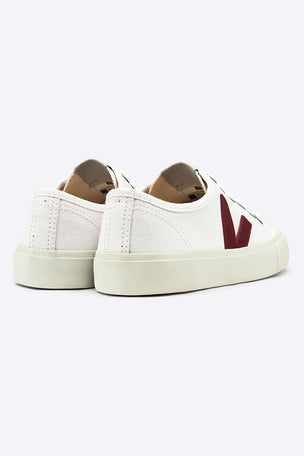 Veja Wata Canvas | White Marsala | Women's image 4 - The Sports Edit