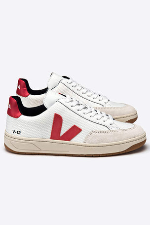 Veja V-12 B Mesh Trainer White Nautico - Women's image 2 - The Sports Edit
