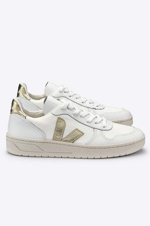 Veja V-10 White Gold - Women's image 2 - The Sports Edit