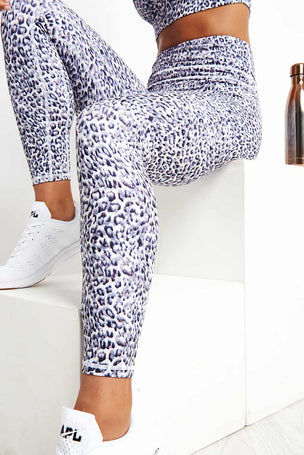 Varley Biona Legging - Distorted Cheetah image 3 - The Sports Edit
