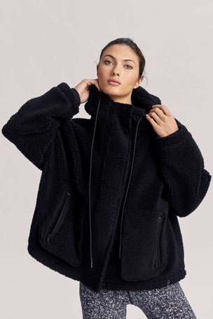 Varley Montalvo Coat - Black image 6 - The Sports Edit