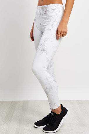 Varley Crenshaw Tight - Grey Marble image 1 - The Sports Edit