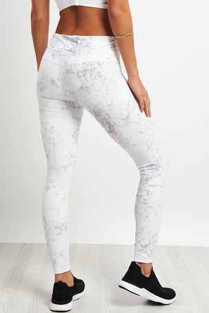 Varley Crenshaw Tight - Grey Marble image 2 - The Sports Edit