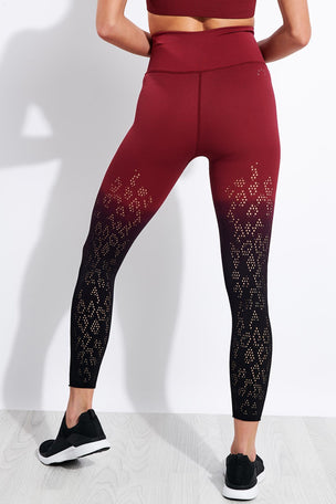 Varley Dover Legging - Zinfandel image 2 - The Sports Edit