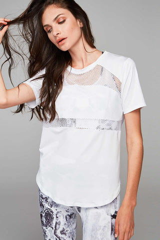 Varley Flint Top - White image 1 - The Sports Edit