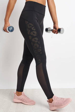 Varley Harter Legging - Black image 1 - The Sports Edit