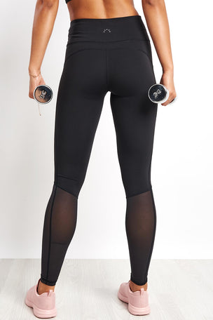 Varley Harter Legging - Black image 2 - The Sports Edit