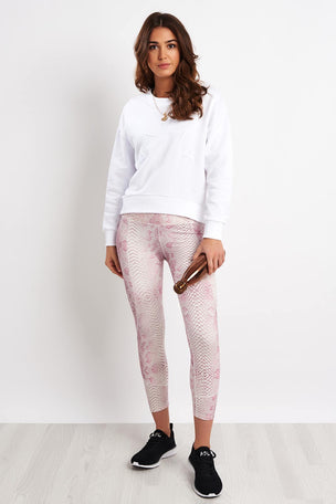 Varley Holborn Sweat - White image 4 - The Sports Edit