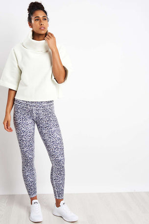 Varley Milwood Sweat - White image 4 - The Sports Edit