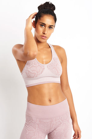 Varley Perkins Bra - Deauville Snake image 3 - The Sports Edit