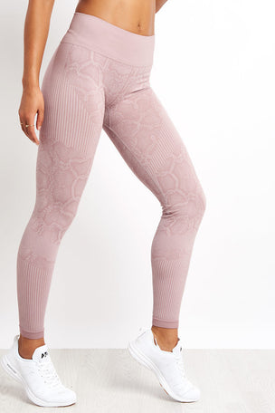 Varley Quincy Legging - Deauville Snake image 1 - The Sports Edit