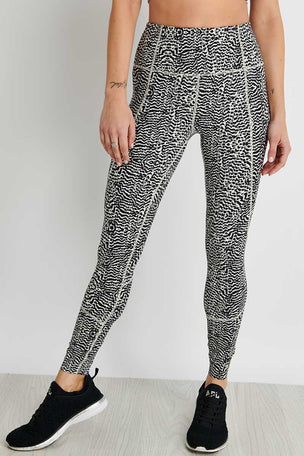 Varley Bedford Legging - Feather Fragments image 1 - The Sports Edit