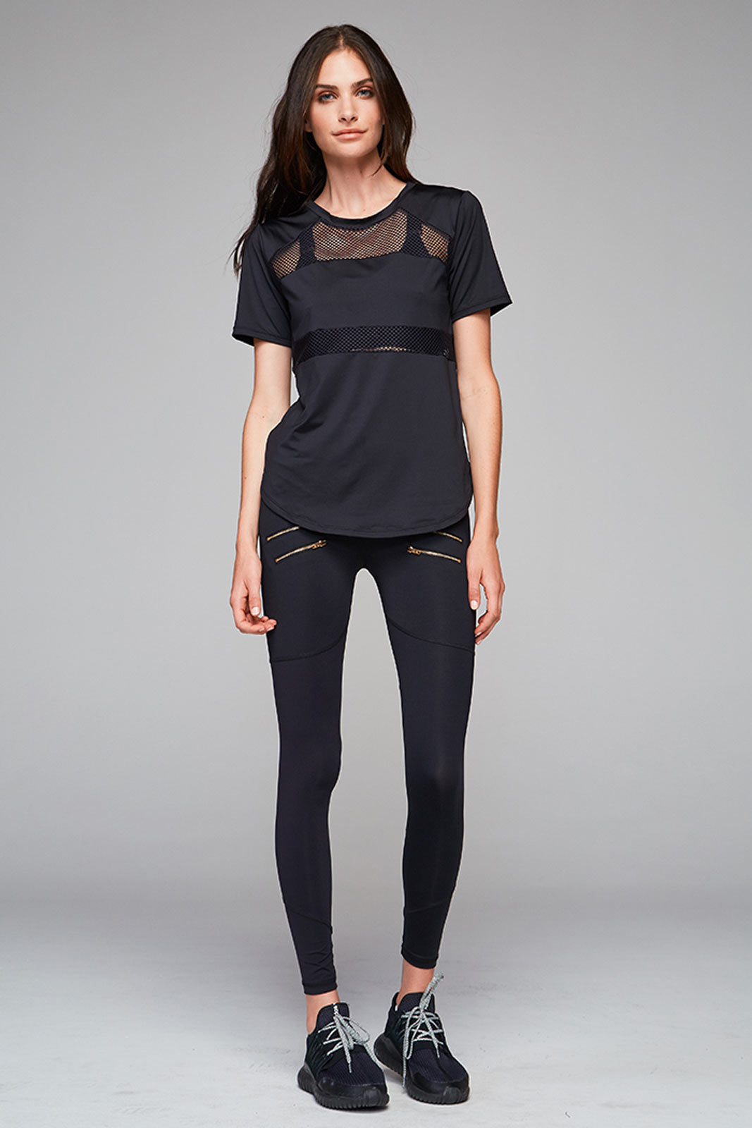 Varley Flint Top - Black image 2 - The Sports Edit