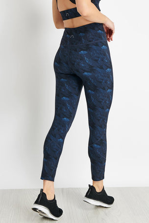 Varley Kensington Legging - Navy Feathers image 2 - The Sports Edit