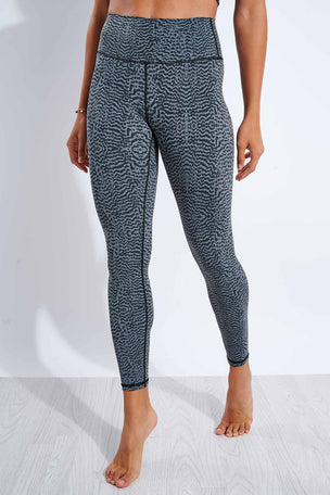 Varley Luna Legging - Nocturnal Feathers image 1 - The Sports Edit