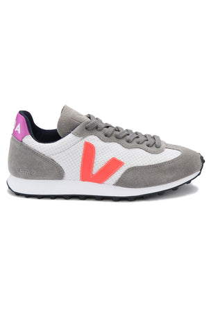 Veja Rio Branco - Gravel Orange Fluo Ultraviolet | Women's image 1 - The Sports Edit