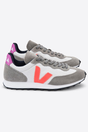 Veja Rio Branco - Gravel Orange Fluo Ultraviolet | Women's image 2 - The Sports Edit