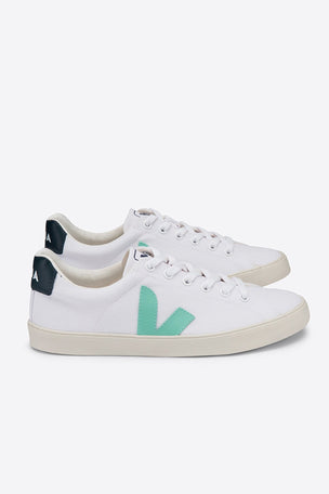 Veja Esplar SE Canvas - White/Turquoise/Nautico | Women's image 3 - The Sports Edit