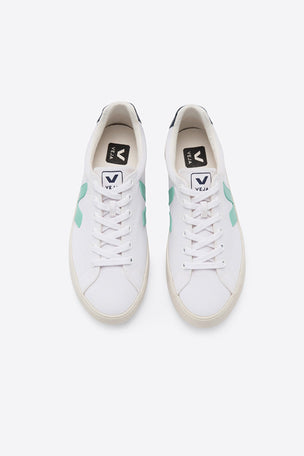 Veja Esplar SE Canvas - White/Turquoise/Nautico | Women's image 2 - The Sports Edit