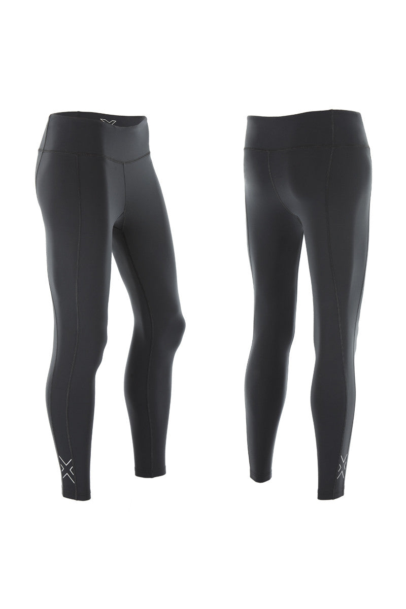 2XU Active Compression Tights Black/Silver image 4 - The Sports Edit