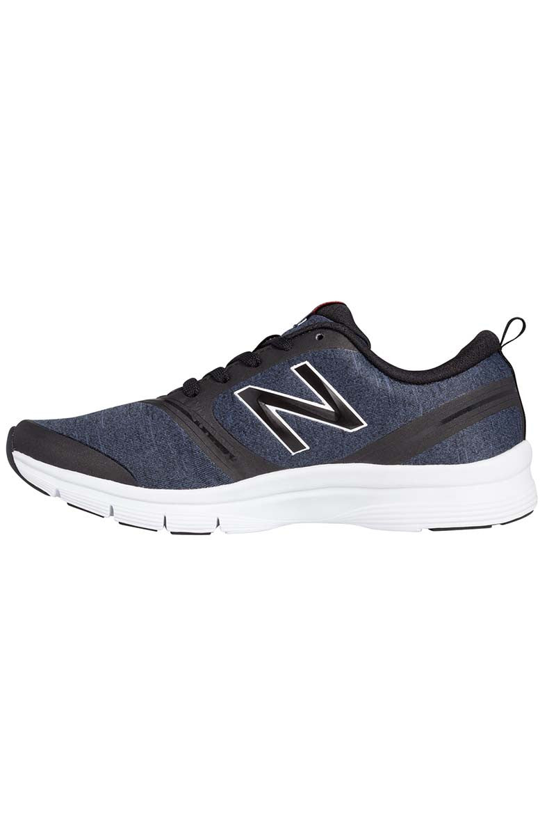 New Balance WX711HB Heather Black White W image 2 - The Sports Edit