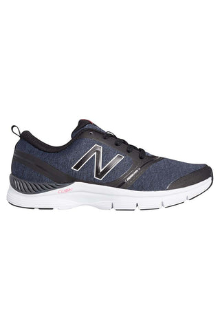 New Balance WX711HB Heather Black White W image 1 - The Sports Edit