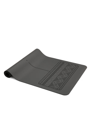 YOGI BARE Paws Natural Rubber Yoga Mat - Grey image 6 - The Sports Edit