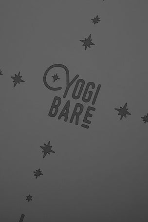 YOGI BARE Paws Natural Rubber Yoga Mat - Grey image 3 - The Sports Edit