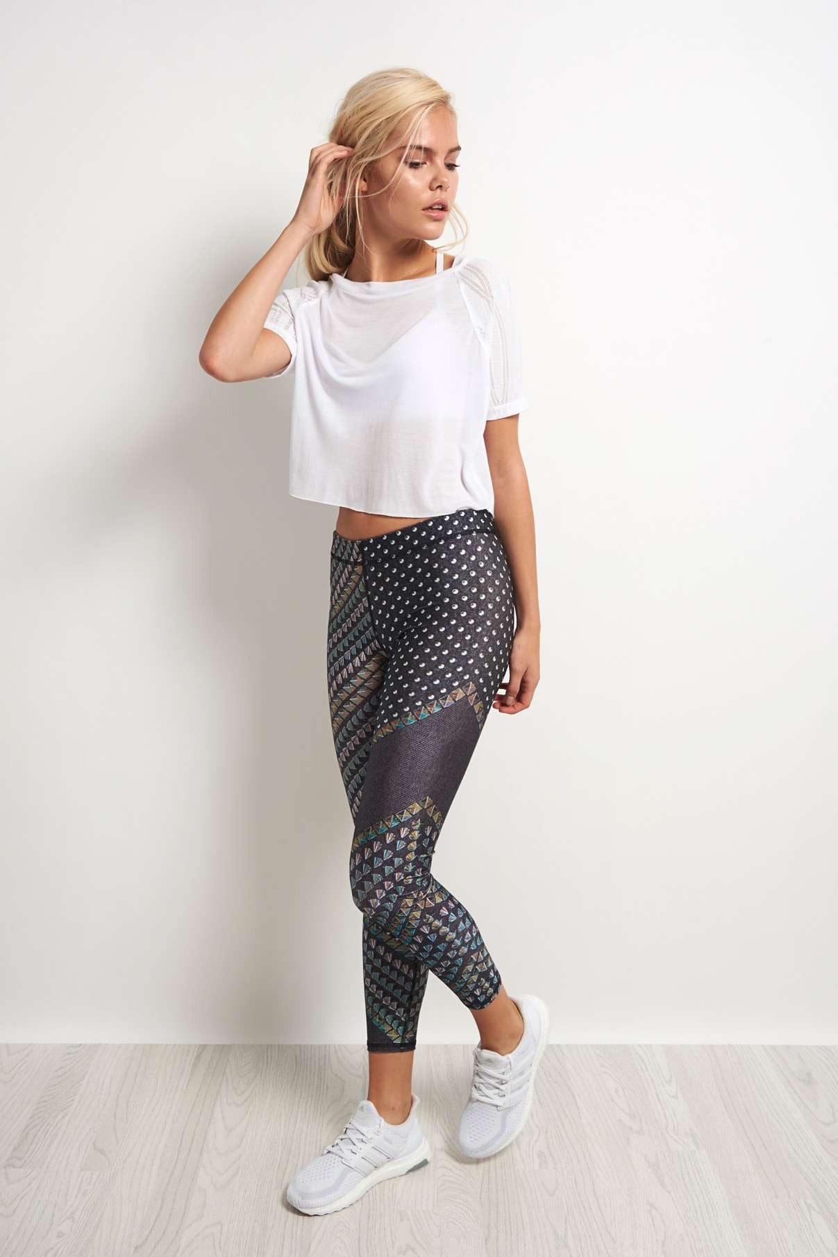 Terez You're a Stud Performance Legging image 4 - The Sports Edit