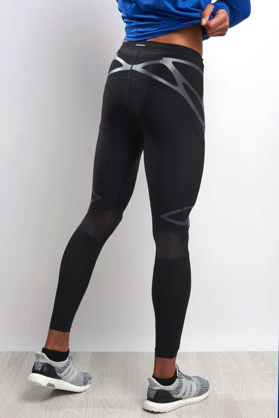 ADIDAS Adizero Sprintweb Long Tight Men image 3 - The Sports Edit