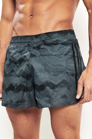 "ADIDAS Adizero Split 5"" Shorts Carbon image 3 - The Sports Edit"