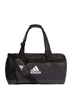 ed4e065c995 ADIDAS Training Convertible Duffel Bag - Black image 1 - The Sports Edit