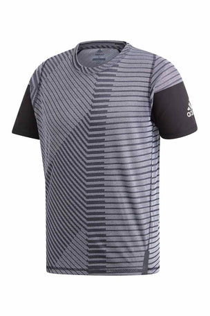 ADIDAS FreeLift 360 Strong Graphic Tee - Grey image 5 - The Sports Edit