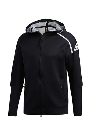 ADIDAS Z.N.E Primeknit Hoodie - Black image 5 - The Sports Edit