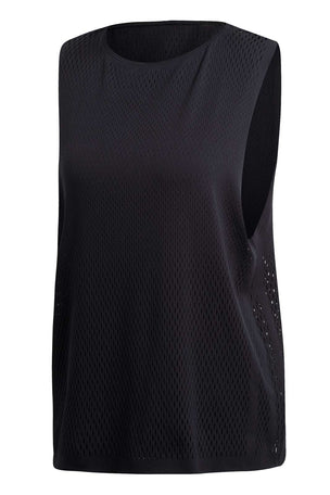 ADIDAS Warp Knit Tank Top - Black image 5 - The Sports Edit
