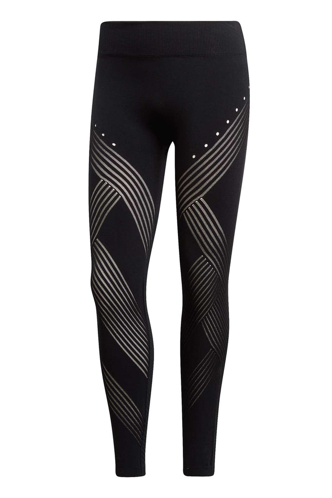 bcf1a18fed36e9 ADIDAS Warp Knit High-Rise 7/8 Tights image 5 - The Sports Edit