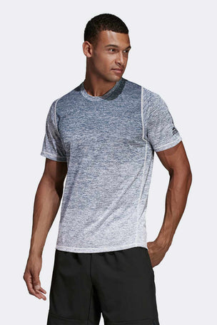 ADIDAS FreeLift 360 Gradient Graphic Tee - Grey image 1 - The Sports Edit