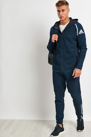 ADIDAS Z.N.E Parley Hoodie Legend Ink image 4 - The Sports Edit