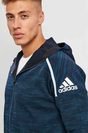 ADIDAS Z.N.E Parley Hoodie Legend Ink image 3 - The Sports Edit