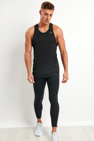 ADIDAS Supernova Singlet - Black image 4 - The Sports Edit