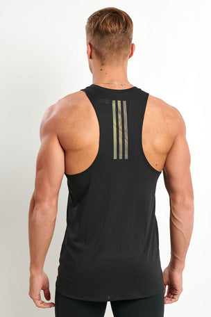 ADIDAS Supernova Singlet - Black image 2 - The Sports Edit
