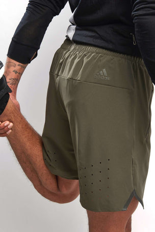 ADIDAS Ultra Energy Shorts - Utility Grey image 3 - The Sports Edit