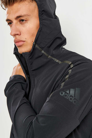 adidas Z.N.E. Men's Running Jacket, Carbon