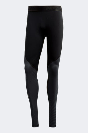 ADIDAS Alphaskin Sport Climawarm Tights - Black image 6 - The Sports Edit