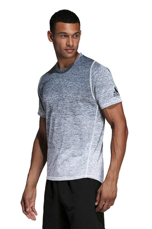 ADIDAS FreeLift 360 Gradient Graphic Tee - Grey image 2 - The Sports Edit