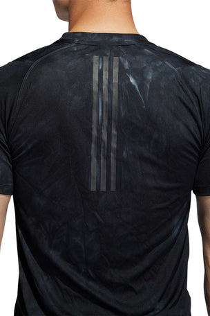 ADIDAS FreeLift Parley T-Shirt - Black image 5 - The Sports Edit