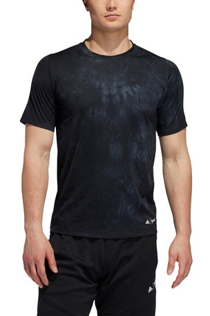 ADIDAS FreeLift Parley T-Shirt - Black image 2 - The Sports Edit