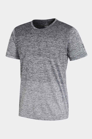 ADIDAS FreeLift Gradient Tee - Black/White image 4 - The Sports Edit