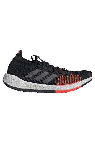 ADIDAS Pulseboost HD Shoes - Black/Grey/Red | Men's image 1 - The Sports Edit