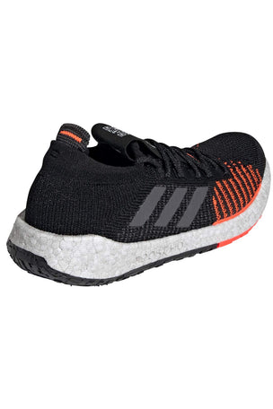 ADIDAS Pulseboost HD Shoes - Black/Grey/Red | Men's image 2 - The Sports Edit